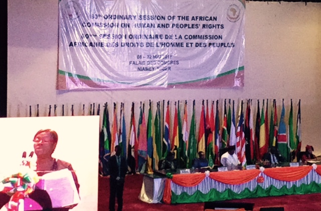 CAL At The 60th Session Of The African Commission And NGO Forum