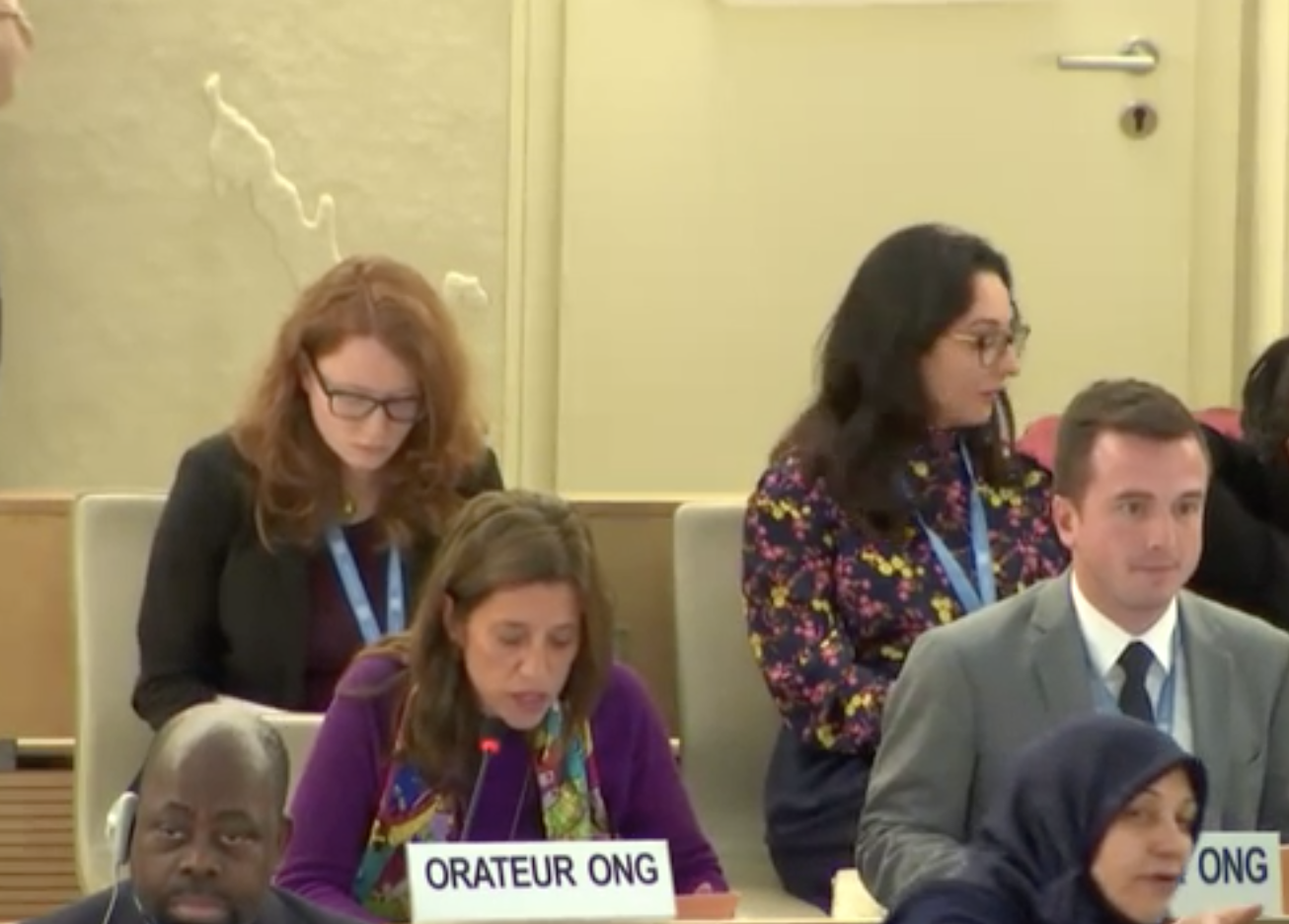 HRC40: Clustered Interactive Dialogue With Special Rapporteur On Cultural Rights