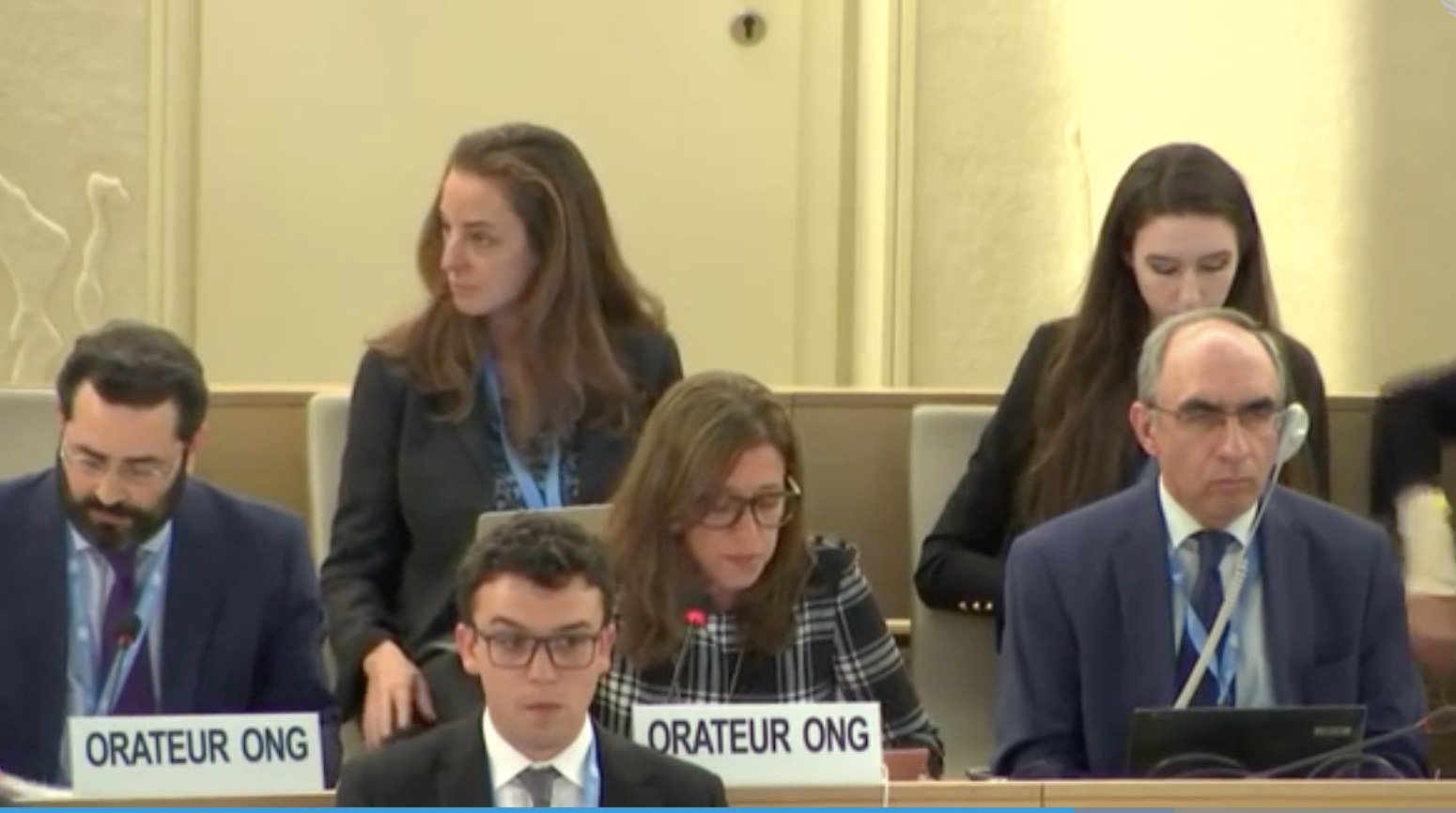 HRC40: Clustered Interactive Dialogue With Special Rapporteur On The Right To Food And Independent Expert On Foreign Debt
