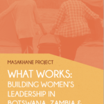 Masakhane Project: What Works