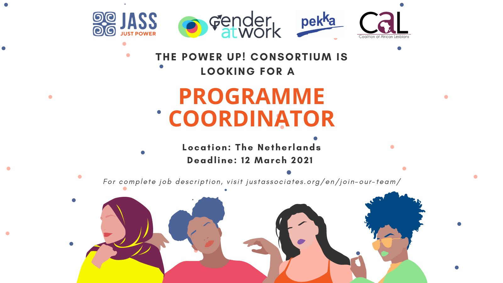 Vacancy: Power Up! Programme Coordinator