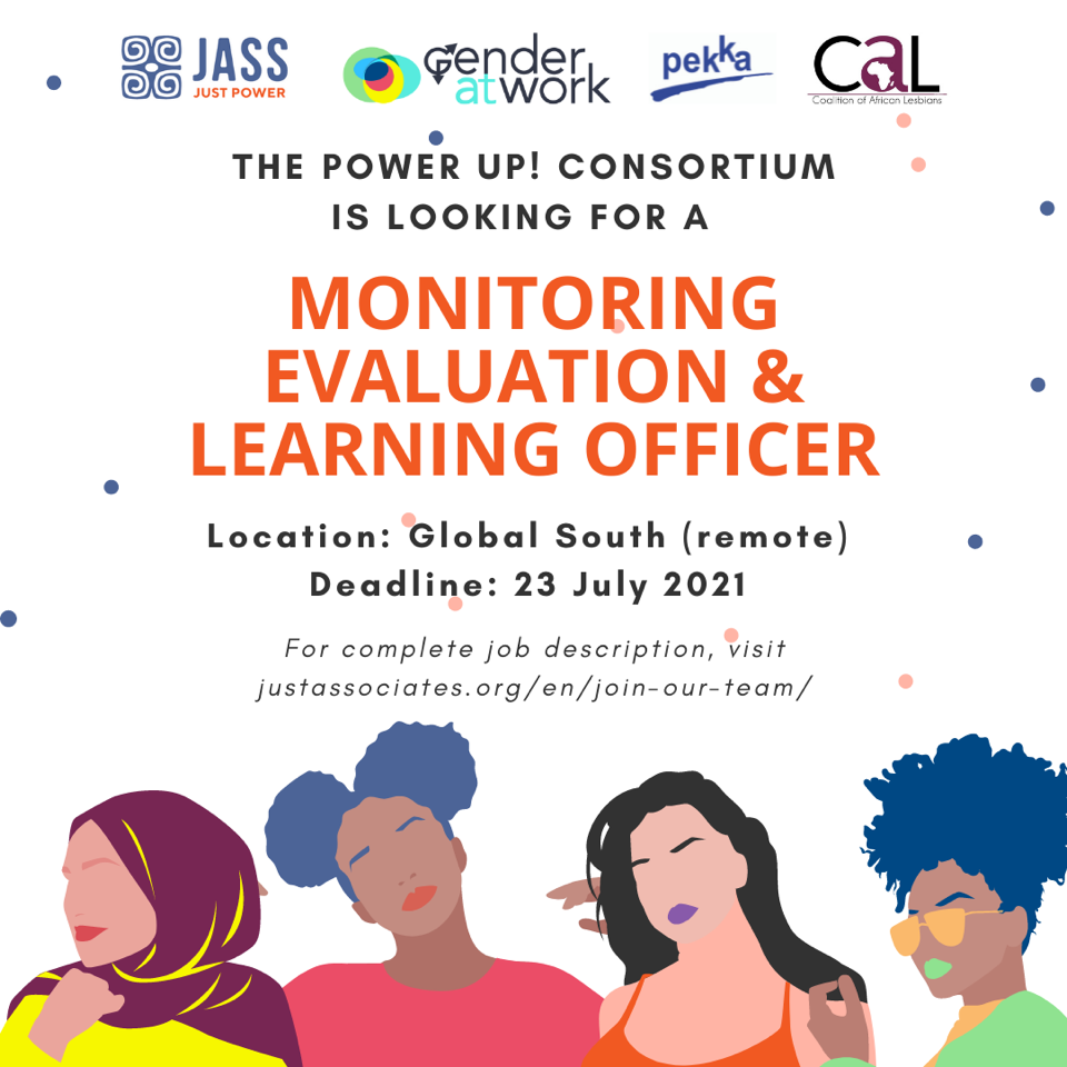 Vacancy: PowerUp! Monitoring, Evaluation And Learning Officer