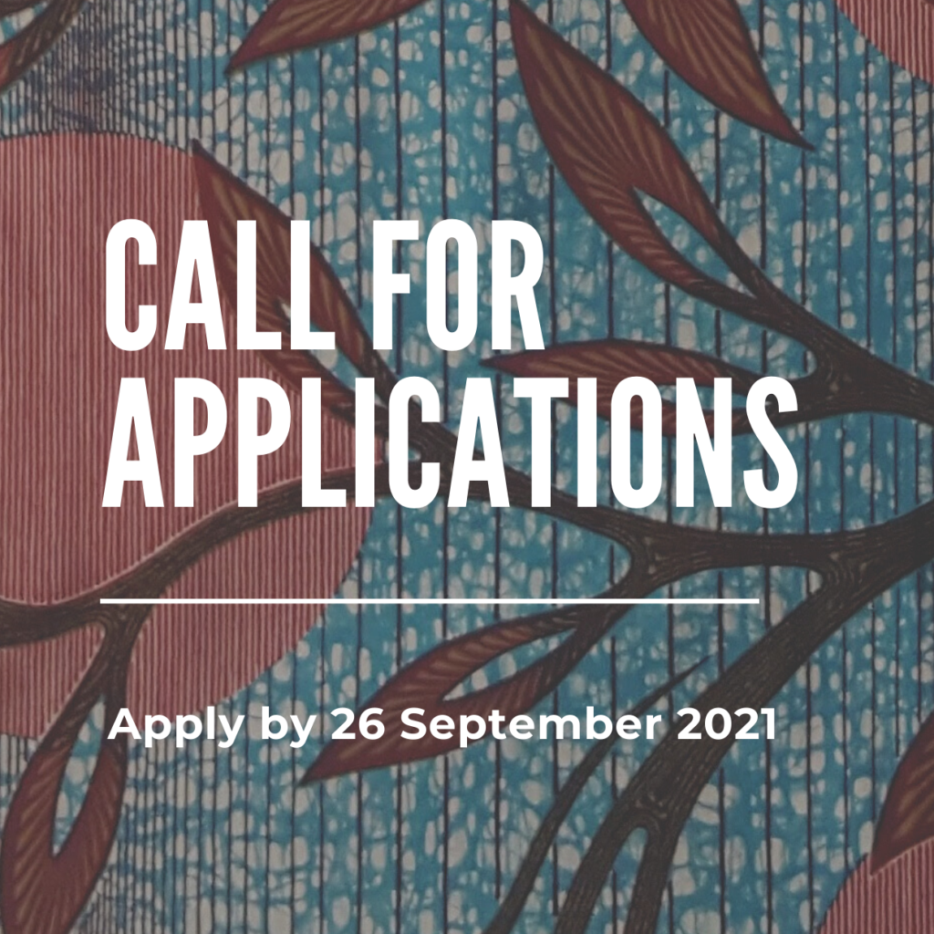 CALL FOR APPLICATIONS: MEDIA & DOCUMENTATION CONSULTANCY